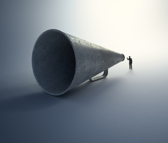 http://www.dreamstime.com/royalty-free-stock-photo-man-speaking-vintage-megaphone-image29416705